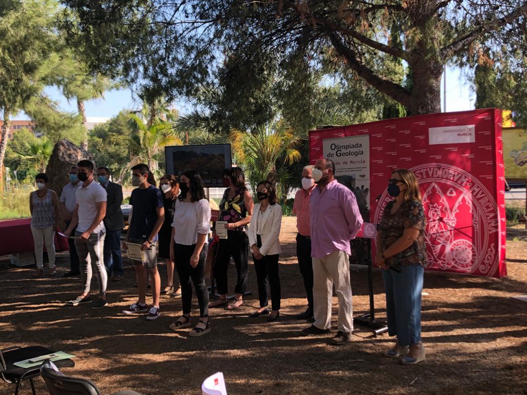 XII Olimpiada de Geología de la Región de Murcia para estudiantes de secundaria y bachillerato